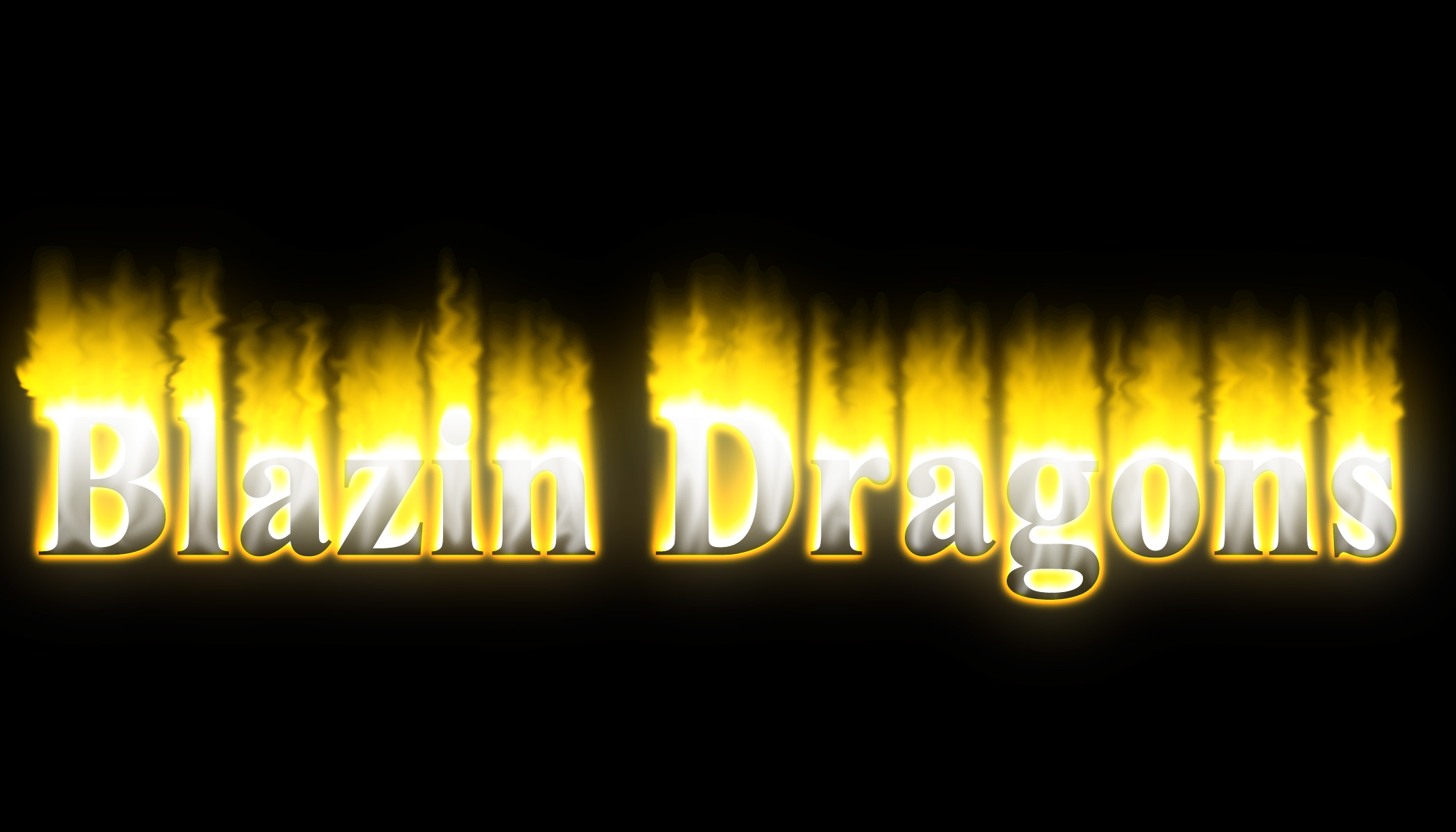 Blazin Dragons